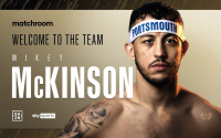 Unbeaten welterweight Michael McKinson signs with Matchroom Boxing as Eddie Hearn plans summer blockbuster at Fratton Park