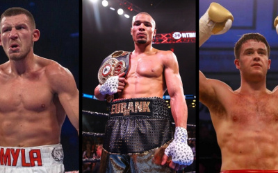 Top 15 highest rated British middleweights in the world