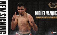 After his controversial defeat to Lewis Ritson, Miguel Vazquez signs with MTK Global ibf boxrec pro record career amateur background fight next time date tv channel live stream