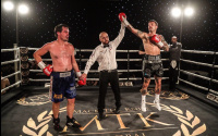 #MTKFightNight results report Mike McGoldrick Lisa Whiteside