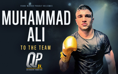 Frank Warren signs 2016 Olympian Muhammad Ali to Queensberry Promotions