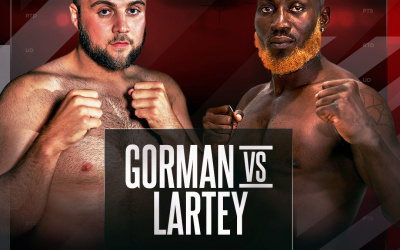 Nathan Gorman vs Richard Lartey is off October 10 cancelled medicals why what happened rescheduled september who wins highlights KO fight Daniel Dubois bt sport channel