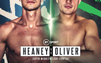 "Nathan Heaney vs Ryan Oliver - 'Hitman' plans on entertaining with his famed ""Delilah"" ringwalk and performance in the ring watch stoke fc youtube clip singalong sing song"