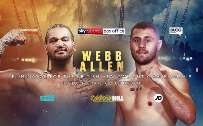 Nick Webb vs Dave Allen