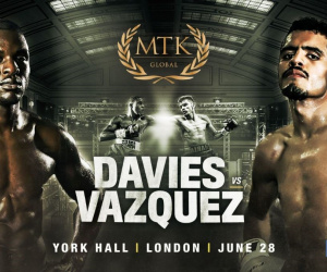 Ohara Davies vs Miguel Vazquez fight time, date, TV channel, undercard, schedule, venue, betting odds and live stream details