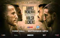 MTK Golden Contract finals fight time, date, TV channel, undercard, schedule, venue, betting odds, ring walks and live stream details ohara davies vs tyrone mckenna ryan walsh vs jazza dickens