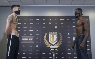 Golden Contract final - Tyrone McKenna vs Ohara Davies official weights and running order