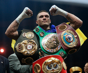 Oleksandr Usyk WBO Andy Ruiz Jr vs Anthony Joshua