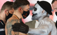 Oleksandr Usyk vs Derek Chisora official weights and running order lee selby george kambosos jr live ringwalks what time start sky sports facebook