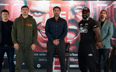 Oleksandr Usyk's heavyweight clash with Derek Chisora will be broadcast on BBC Radio 5 Live what frequency time start ringwalsk commentators pundits