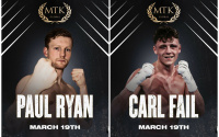 National amateur champions Paul Ryan and Carl Fail will make their pro debuts on McGregor-Guerfi card boxrec record career wiki titles abas clubs trainers betting odds oddschecker
