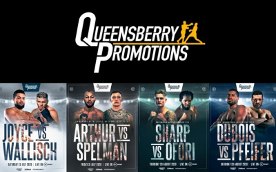 Daniel Dubois and Joe Joyce next opponents revealed frank warren queensberry promotions bt sport summer shows