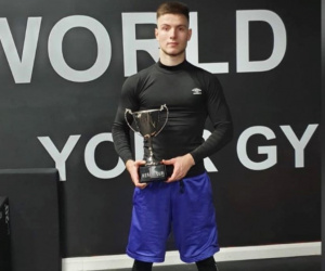 Super-lightweight Radoslav Saraliisk turns pro with Boxing Connected gbbu joe elfidh Zlatograd watch youtube boxrec amateur career record professional gym lee page chris Lamontagne at Kent Gloves Boxing Club in Gillingham
