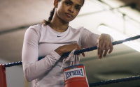 Extraordinary Ramla Ali lands landmark deal everlast amateur career pro record refugee brother grenade died how did he die death team gb who is the female boxer in advert