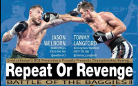 Jason Welborn vs Tommy Langford fight time, date, TV channel, undercard, schedule and venue