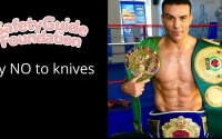 Robin Reid joins the fight against knife crime joe calzaghe amateur pro career wiki boxrec rematch debut highlights ko reel