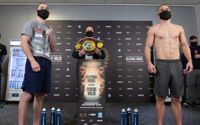 "Ryan Walsh ready for Jazza Dickens: ""I'll win at all costs"" golden contract finals featherweight who wins predictions previews tale of the tape analysis betting odds oddschecker best bets"