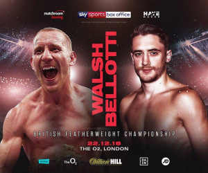 Ryan Walsh vs Reece Bellotti