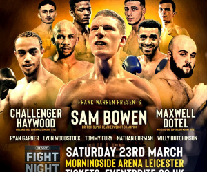 Sam Bowen March 23