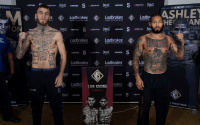 Sam Eggington vs Ashley Theophane official weights and running order ben fields Kaisee Benjamin Aaron McKenna stevie Michael Hennessy Jr idris virgo id tommy welch welsh matt gordon