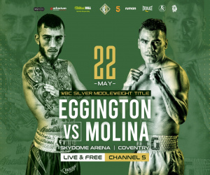 Former World Champion 'King' Carlos Molina warns Sam Eggington that he's better than ever predictionns boxrec who wins watch channel 5 hennessy sports wbc silver middleweight
