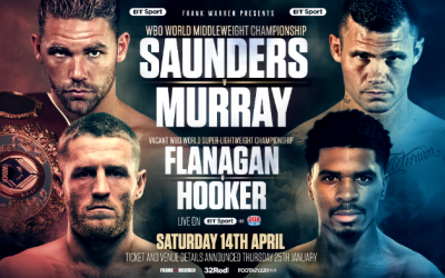 Billy Joe Saunders v Martin Murray