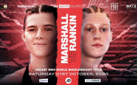 Savannah Marshall vs Hannah Rankin will contest the vacant WBO Middleweight World Title on the undercard of Oleksandr Usyk vs. Derek Chisora positive covid highlights betting odds oddschecker preview predictions amateur career pro record