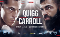 Scott Quigg vs Jono Carroll fight time, date, TV channel, undercard, schedule, venue, betting odds and live stream details