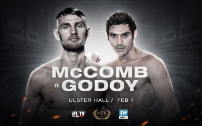 Preview: #MTKFightNight event takes place in Belfast on February 1 Sean McComb vs Mauro Godoy