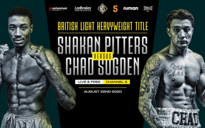 Hennessy Sports reveal the full card for Shakan Pitters vs Chad Sugden on August 22 undercard five fights