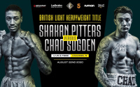 New date revealed for Shakan Pitters vs Chad Sugden British Light Heavyweight clash august 22 betting odds stats who wins predictions hennessy sports channel 5