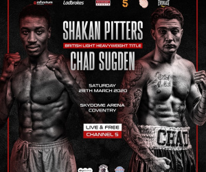 Predictions for Shakan Pitters vs Chad Sugden who wins and why betting odds