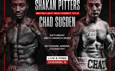 Shakan Pitters vs Chad Sugden cancelled postponed off tickets refunds info Hennessy Sports postpones both shows in March and April