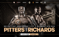 Shakan Pitters vs Craig Richards - tensions are running high ahead of British light-heavyweight clash presser conference quotes who wins and why analysis tale of the tape predictions