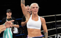 Newly-crowned WBA World Female bantamweight champion Shannon Courtenay may have to face another tough Australian next rachel ball fight tony tolj boxrec O'Connell