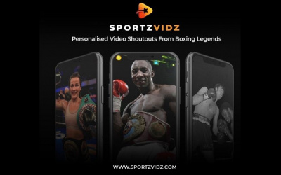 Celebrity Video message SportzVidz