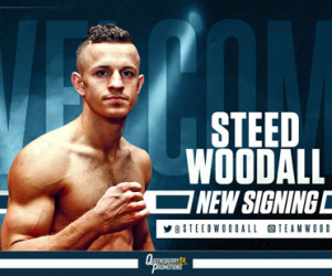 Steed Woodall frank warren super middleweight sign amateur record career professional next fight manager promoter