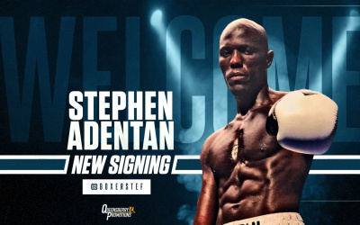 Lawrence Okolie sparring partner turns pro with Frank Warren Repton Boxing Club Stephen Adentan amateur career record who is he 2019 London ABA King of the Ring Dereck Chisora and Anthony Joshua