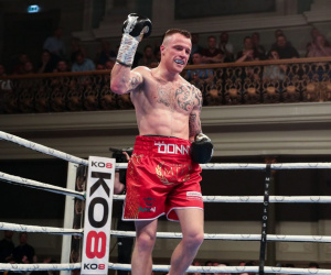 Ultimate Boxxer champion Steven Donnelly