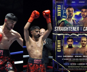 Sufyaan Ahmed promises a 10-round war with Kane Salvin on the UK's first-ever drive-in boxing show