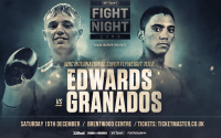 Sunny Edwards vs Junior Granados weights and running order