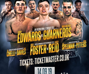 Sunny Edwards vs Hugo Rosendo Guarneros weights and running order