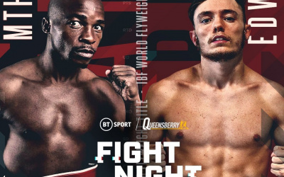 Sunny Edwards vs Moruti Mthalane IBF world flyweight title Friday April 30, live on BT Sport frank warren oddschecker betting odds