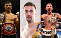 Highest world-ranked British super-lightweights