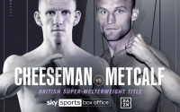 Ted Cheeseman vs James JJ Metcalf fight details - time, date, TV channel, undercard, schedule, venue, betting odds, predictions, ring walks and live stream info oddschecker tale of the tape what start when where number watch