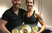 Terri Harper vs Nozipho Bell wins IBO title belt