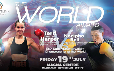 Ryan Rhodes talks Terri Harper vs Nozipho Bell, sharing the ring with Canelo, and his future in boxing