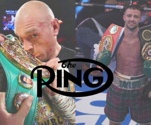 Highest rated British boxers according to latest Ring Magazine ratings tyson fury title josh taylor p4p heavyweight lightweight super world list best no.1