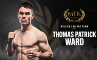 Thomas Patrick Ward signs MTK