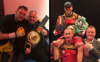 Tommy Frank and Josh Wale both claim IBO titles